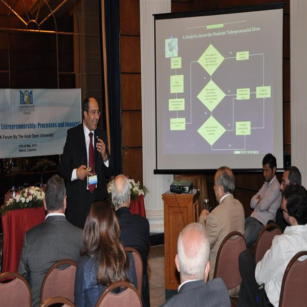 Lecture on Incubation - Beirut, Lebanon