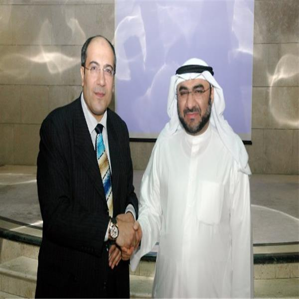 With Dr Ali Al Hammadi