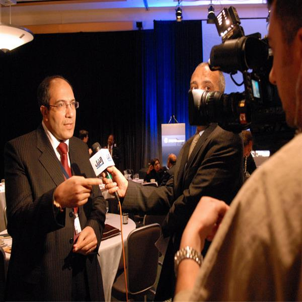 Interview with Nile News Channel in Washington