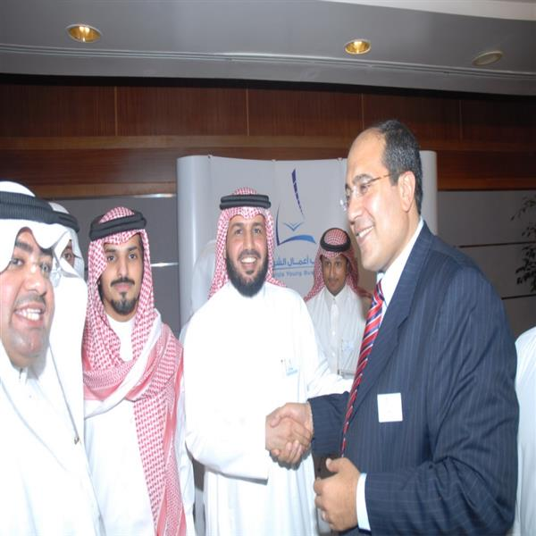 With Mr Ayedh Al Qahtani